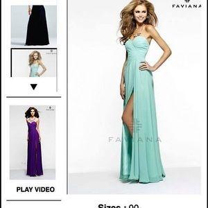 Brand new, never worn formal dress.